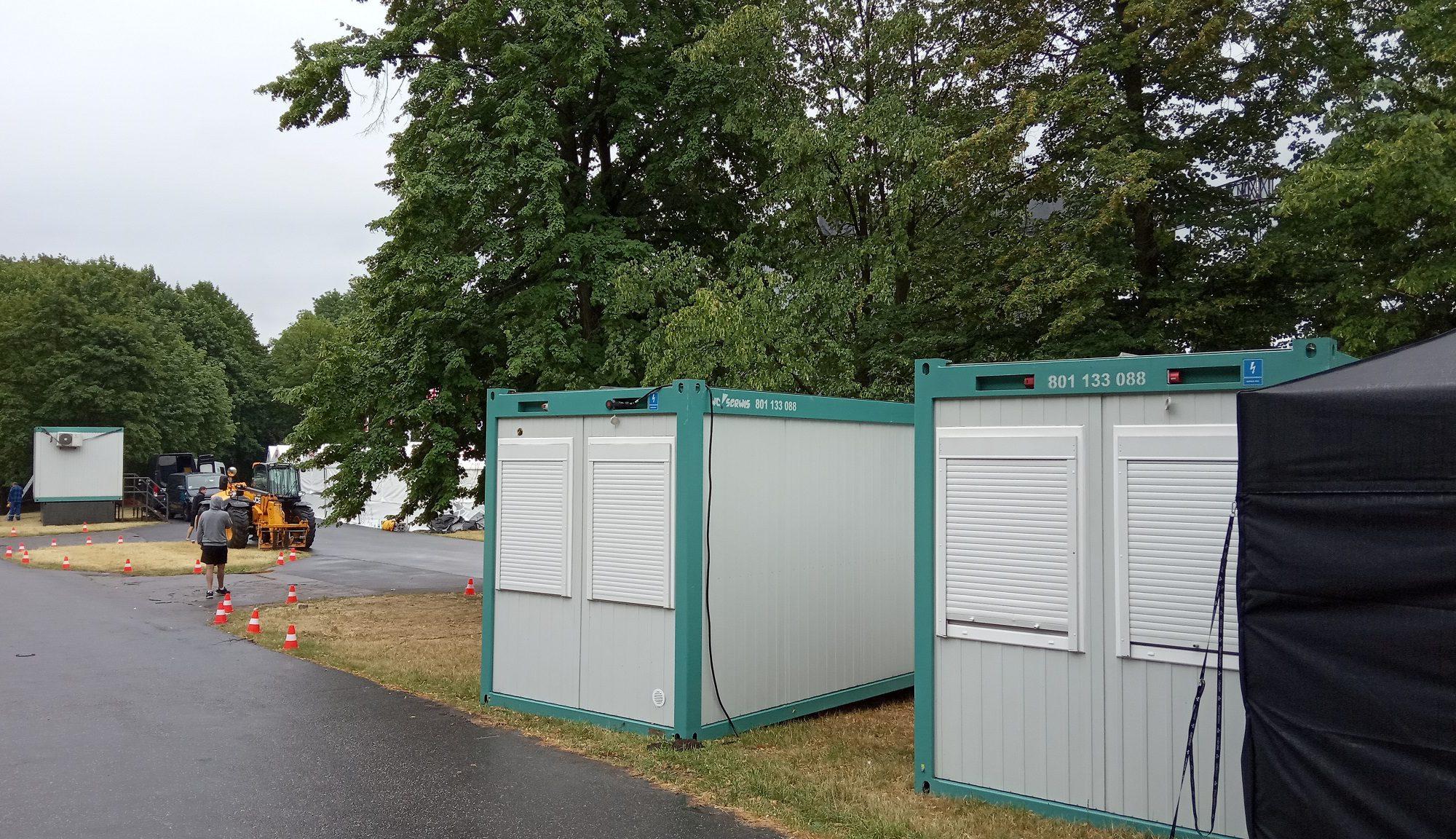 kontenery sanitarne na wynajem w WC Serwis